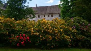 ogrody zamkowe są piękne w czerwcu