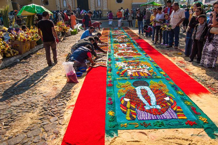 Wielki Tydzień w Gwatemali – Antigua