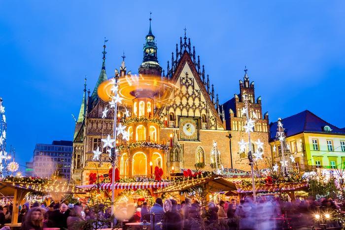 Jarmark bożonarodzeniowy w Wrocławiu