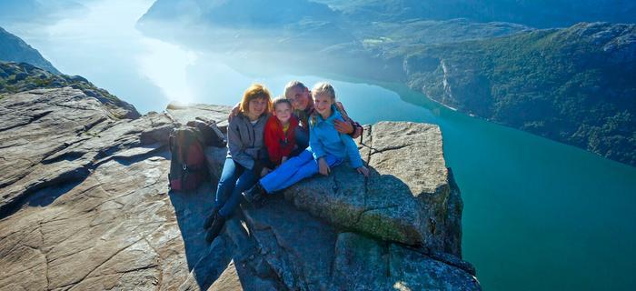 Norwegia z dziećmi