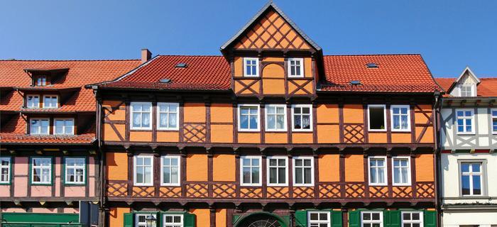 Domy szachulcowe w Quedlinburgu