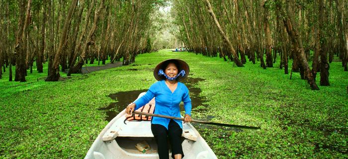 Wietnam - w Delcie Mekongu