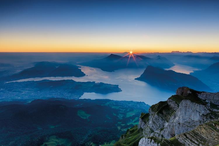 Szwajcaria, Jezioro Czterech Kantonów