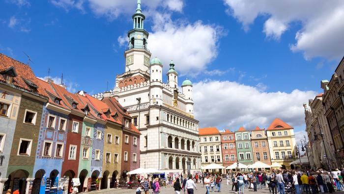 Poznań - stare miasto