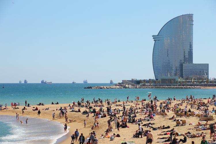 Hiszpania, Barcelona - Barceloneta