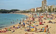 Hiszpania, Lloret de Mar - Lloret Beach