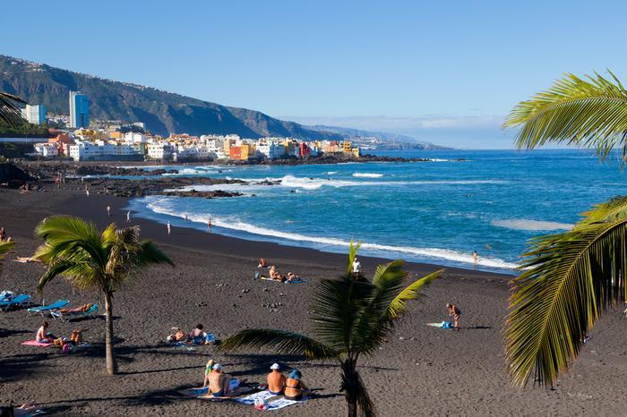 Wyspy Kanaryjskie, Puerto de la Cruz - Playa Jardin