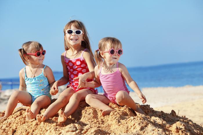 Dzieci na plaży