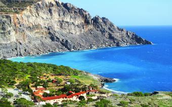 Wyspy greckie: Klasztor Koudoumas na Krecie