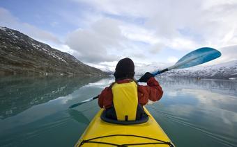 Spływ kajakowy w Norwegii