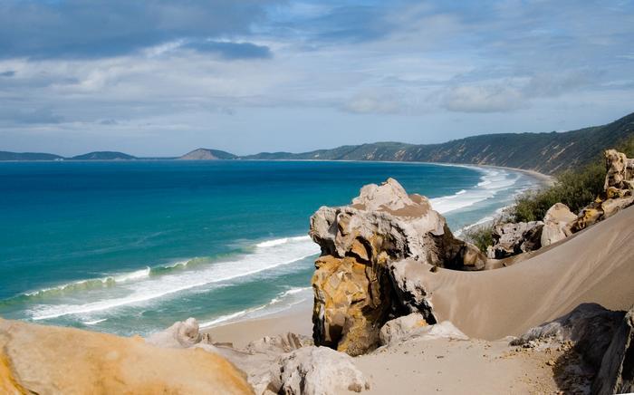 Tęczowa Plaża (Australia, Queensland)