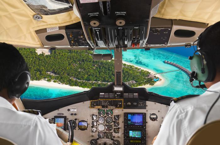 Lądowanie na egzotycznej wyspie