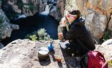 Posiłek w górach