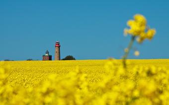 Morze Bałtyckie, Rugia: latarnia na Przylądku Arkona