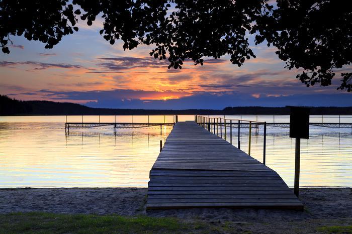 Kaszuby, jezioro Wiele