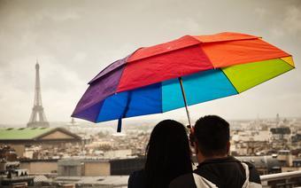 Deszczowy Paryż