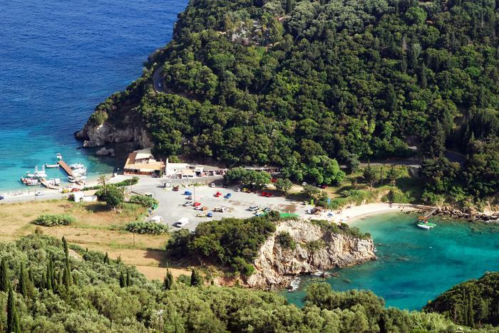 Wyspy greckie: Korfu, Paleokastritsa