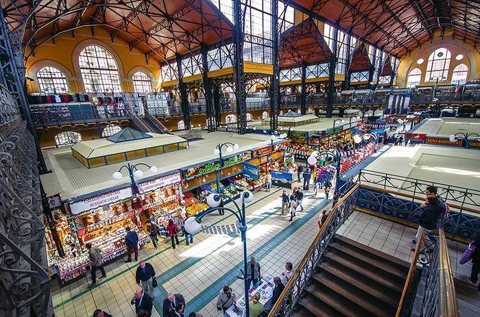 Hala Vásárcsarnok w Budapeszcie