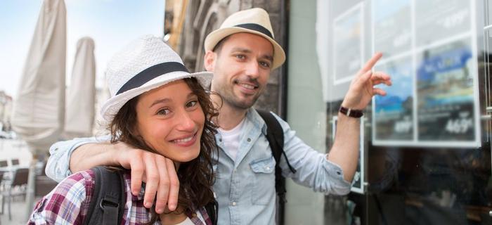 Para w podróży