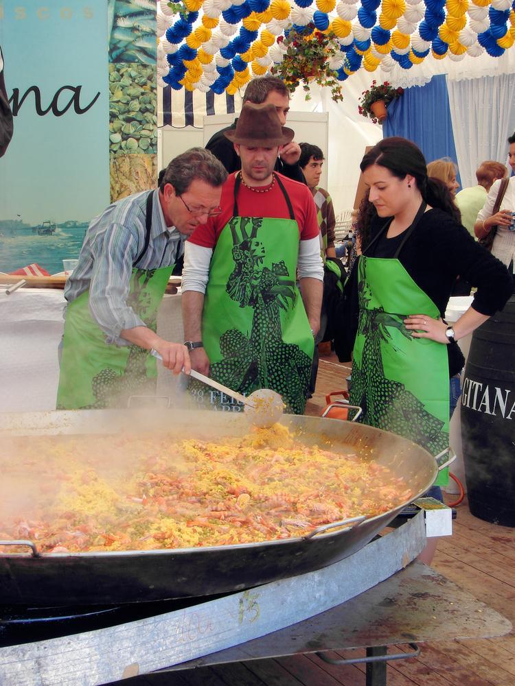 Gotowanie w Barcelonie