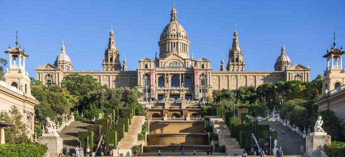 Atrakcje Barcelony - MNAC