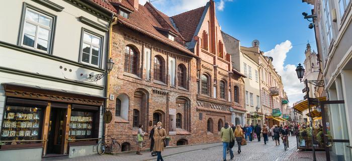 weekend w Wilnie: ulica Zamkowa