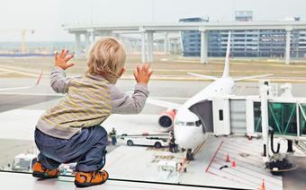 Lot samolotem, zdjęcie ilustracyjne