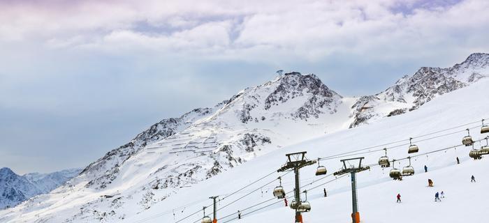 Narty w Austrii: ośrodek narciarski Solden