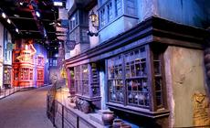 Ulica Pokątna z filmów o Harrym Potterze. Studio filmowe w Leavesden