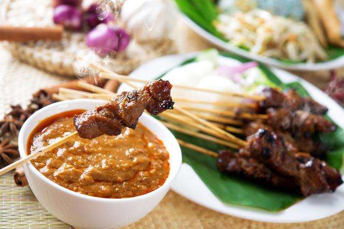 Kuchnia Bali. Sataje