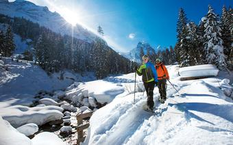 Region Jungfrau - szlaki na rakiety śnieżne