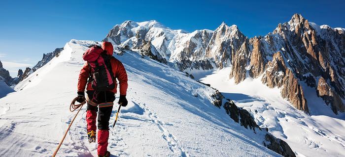 Wspinaczka na Mont Blanc
