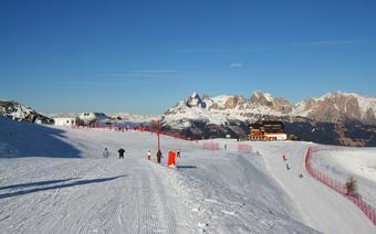 Narty w Val di Fiemme