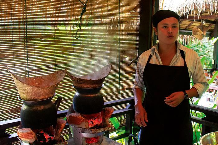 Kurs gotowania w Laosie