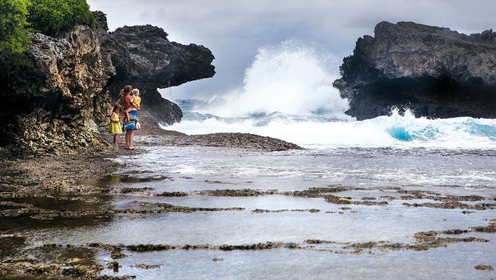 Wyspa w Krolestwie Tonga