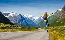 Podróże są drogą do szczęścia