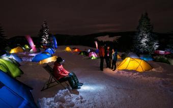 WinterCamp pod Turbaczem