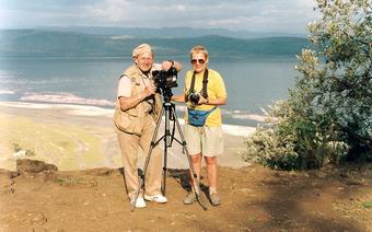 Elżbieta Dzikowska i Tony Halik
