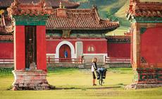 Mongolia - klasztor Amarbayasgalant