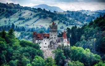 Zamek w Branie (Transylwania) - siedziba Drakuli