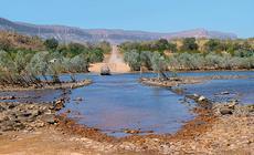 Gibb River Road: rzeka Pentecost