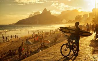 Copacabana w Rio de Janeiro