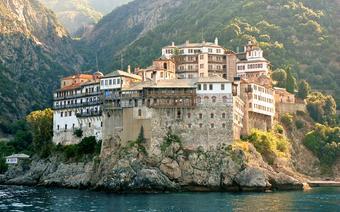 Athos - klasztor Grigoriu