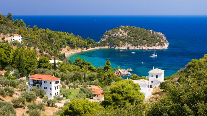 Wyspy greckie - Skopelos