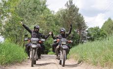 Motocyklowa wyprawa Marty i Bartka