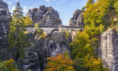 Most Bastei w Szwajcarii Saksońskiej