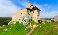 Bobolice – jeden z najstarszych zamków w Polsce. Szlak Orlich Gniazd
