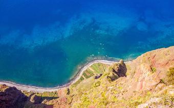 Madera: widok z klifu Cabo Girao