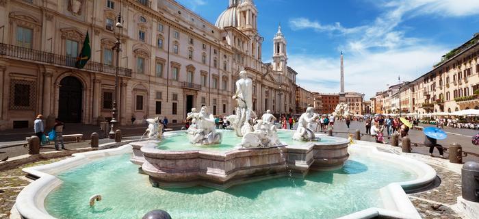 Najciekawsze place w Rzymie