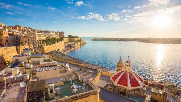 Valetta - stolica Malty